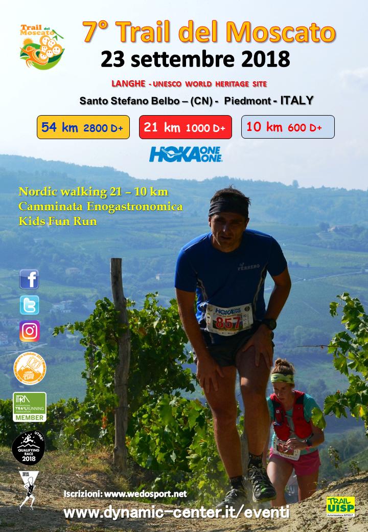 Calendario Podistico Veneto.Informazioni 7 Trail Del Moscato 2018